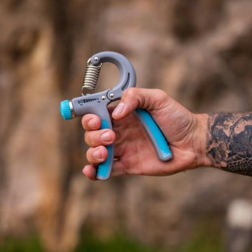 Blue Grip Strengthener Tattoo