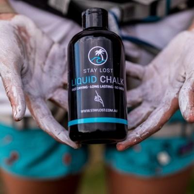 Liquid Chalk 250ml Chalked Hands