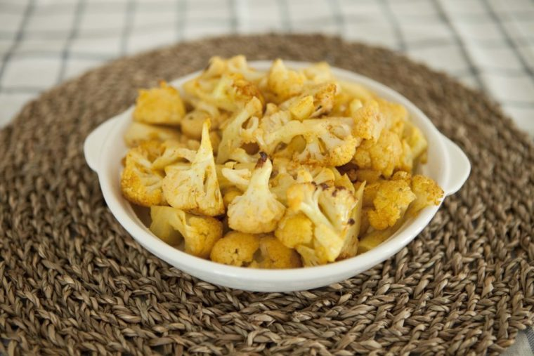 Low Carb Cauliflower Popcorn