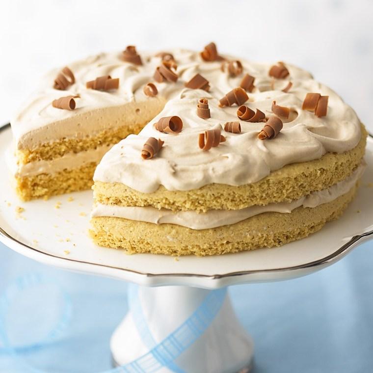 Low Carb Hazelnut-Mocha Torte