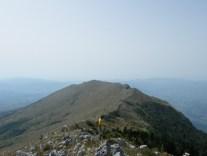 Pogled sa Šijka na greben