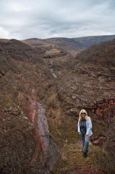 Na mestu gde se kanjon Kovanog Dola spaja sa Javorskom rekom