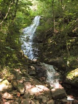 Donji deo kaskada Donjeg Piljskog vodopada