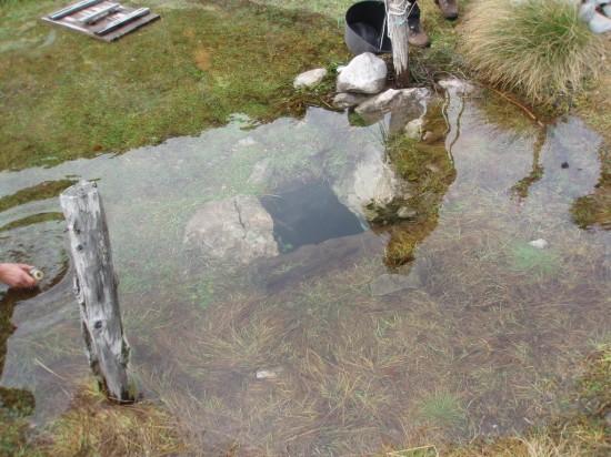 Jedini izvor vode na trasi