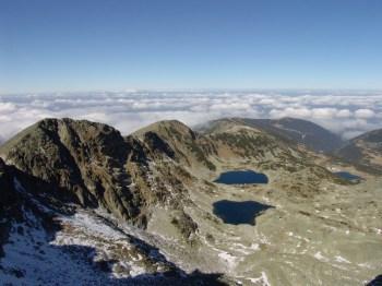 Jezera (Gorske oči) na usponu ka Musali