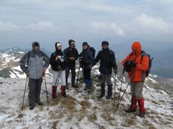 Planinari na ovoj grebenastoj turi