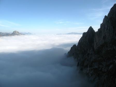 Ocnjak i dolina u Magli