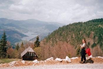 Pogled na Zaovinsko jezero
