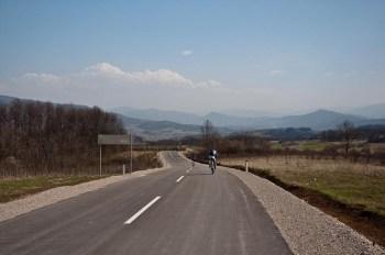 Odličan put na zapadnoj strani planine