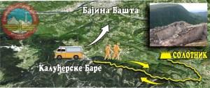 Trasa od Kaluđerskih Bara do Solotnika