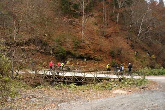 Na mostu preko Brusničke reke