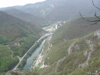 Pogled na kanjon Ovcarskokablarske klisure