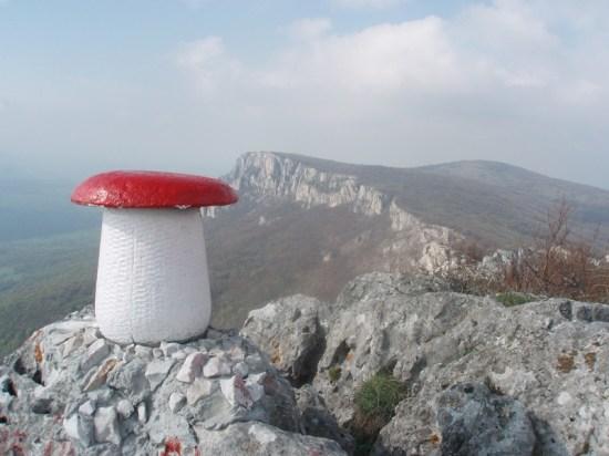 Obelezje vrha Tupiznice