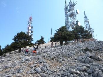 Evo nas na vrhu Megas Soros 1628 m