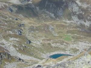 Jazinacko jezero - pogled od Ezerski vrv