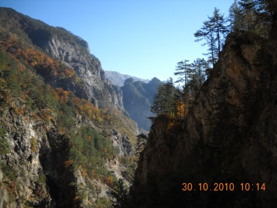 Pogled na Kanjon Diva Grabovica