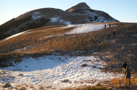 Pogled na vrh V.Vilinac 2118 m