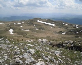 Pogled sa vrha Ogorjelica