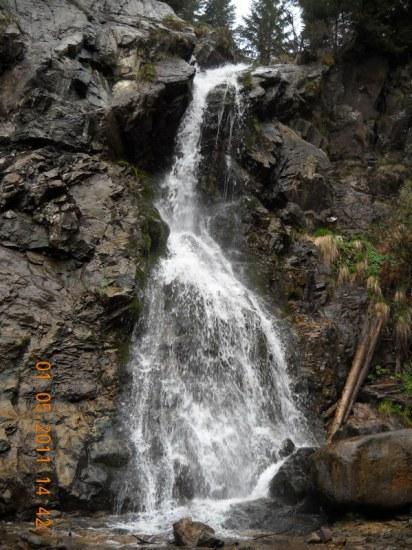 Vodopad Virciorog na 1140 m