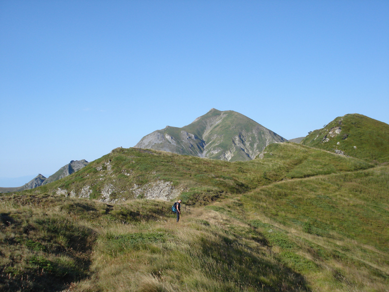 Kozuf planina - vrh Dudica 2132 m