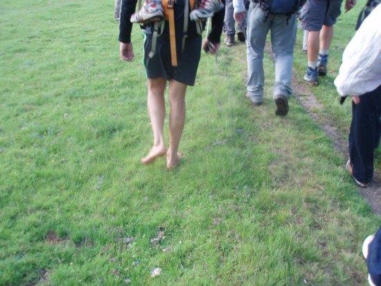 Jedan planinar (Slovenac) celu trasu prešao je bos