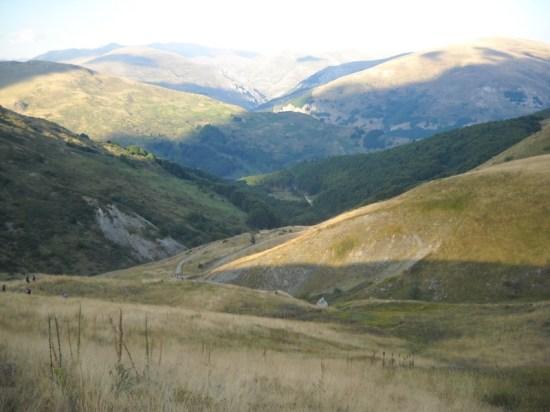 Pogled na planinu Korab