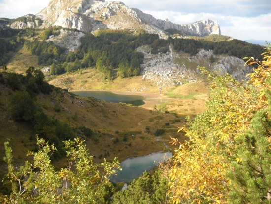 4. Veliko i Platno jezero na trasi
