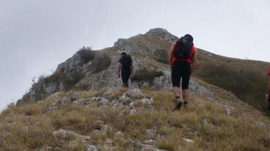 Uspon na Galchin - severna strana