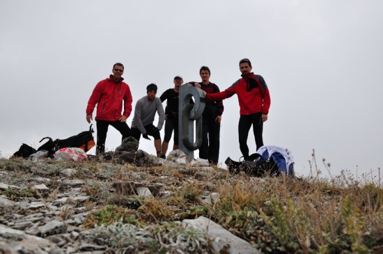 Va vrhu Galchin - 1472 m