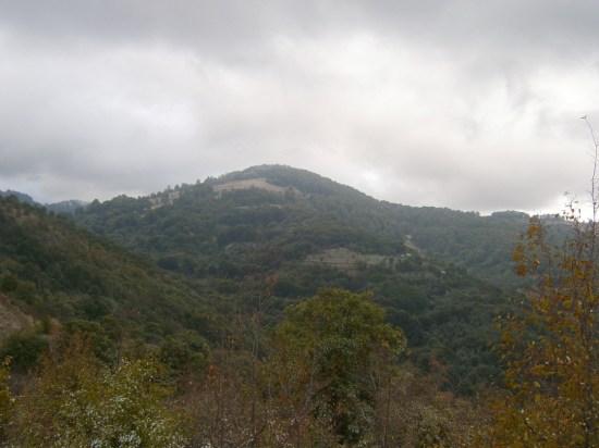 Vrh Kopljača (1345) - severna strana