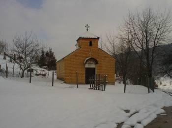 Crkvica u zaseoku Milunovići