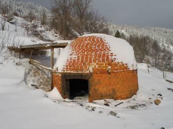 Ćumurana u zaseoku Milunovići