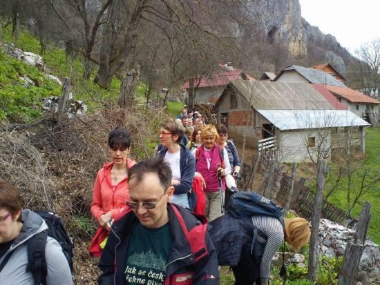 Zaseok i ulaz u kanjon Panjice