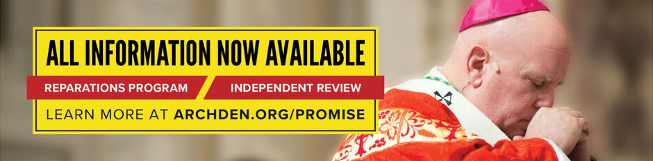 Link to Archibishop's promise and abuse reparations page