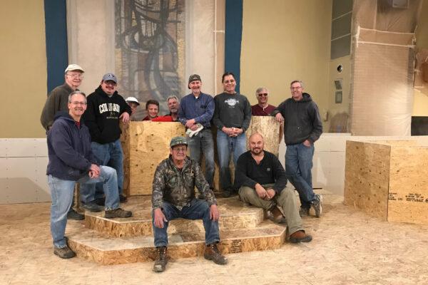 Image of construction crew