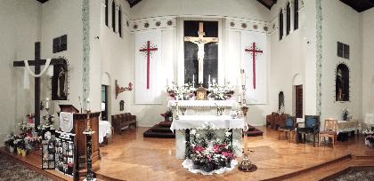 St Brigid Catholic Church Hanford Ca Altar