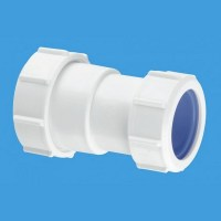 """McAlpine Z28L - ISO 2"""" Straight Connector - Compression ..."""