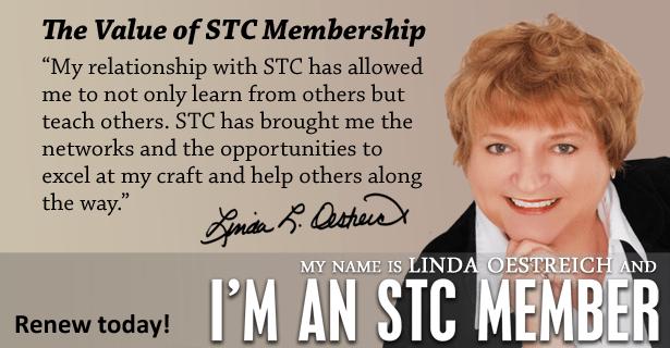 Linda Oestreich - I'm an STC Member