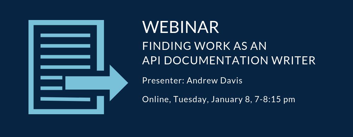 Webinar: Finding Work as an API Documentation Writer
