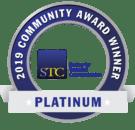 STC San Diego Platinum community award