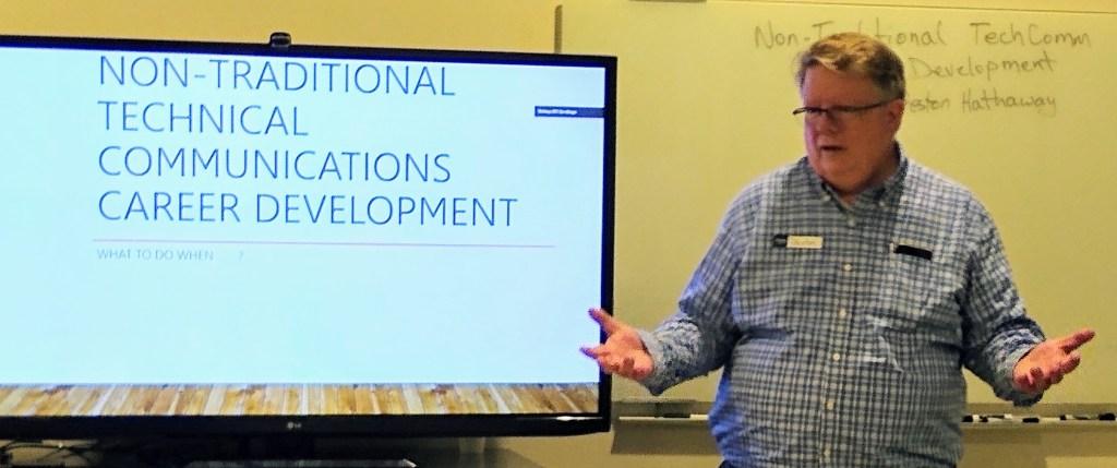 Preston Hathaway speaks at STC San Diego