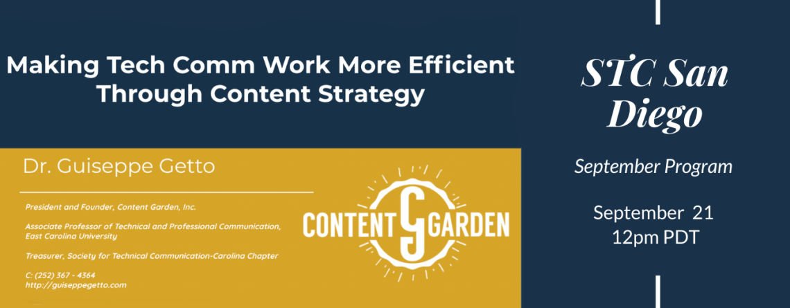 Making Tech Comm Work More Efficient Through Content Strategy