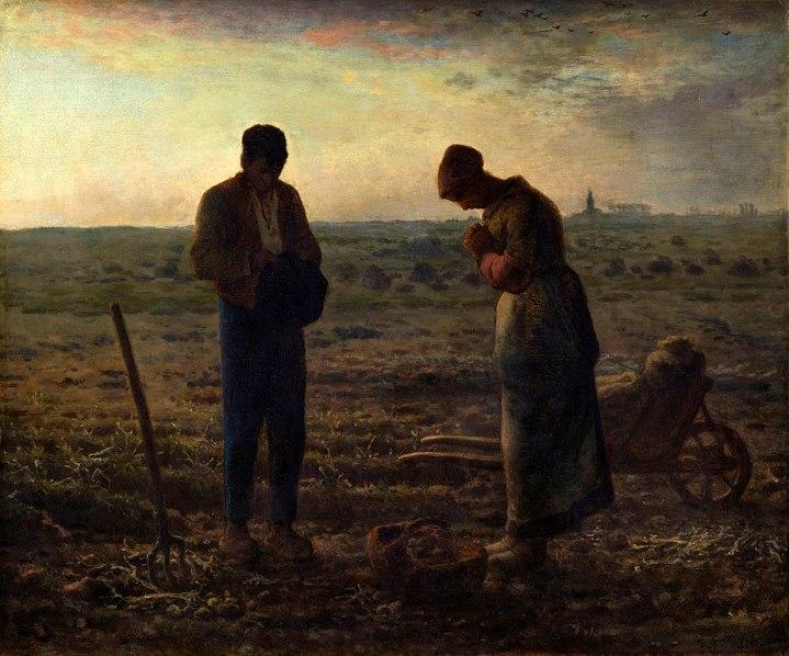 The Angelus, Jean-François Millet, 1857-1859, Musée d'Orsay