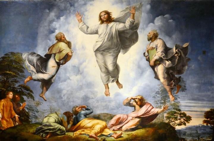Transfiguration (Upper Portion), Raphael, 1516-1520, Pinacoteca Vaticana, Vatican.