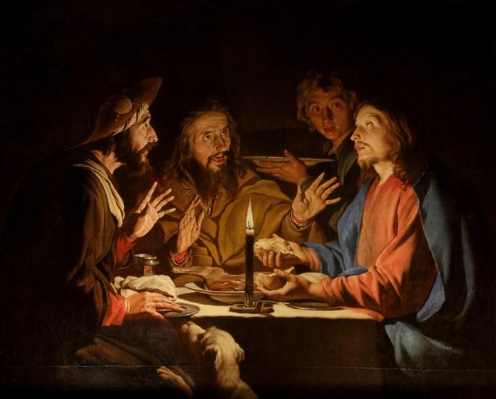 Supper at Emmaus, Matthias Stom, 1633-1639
