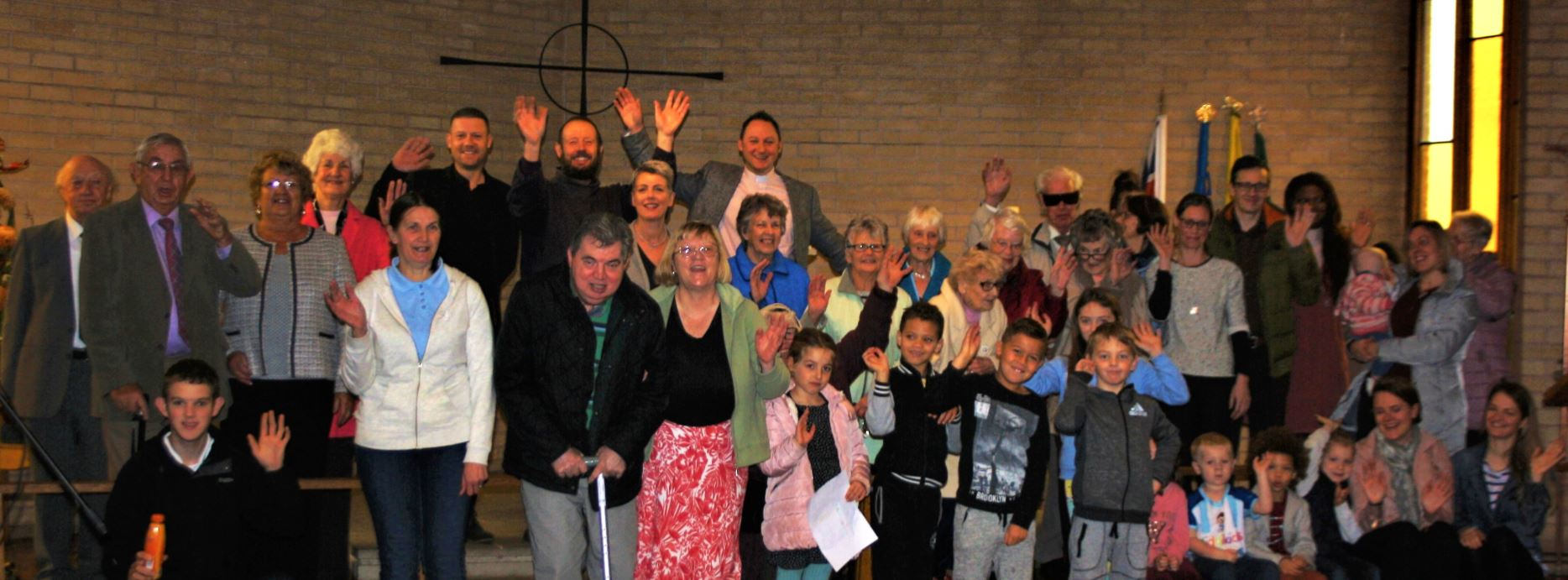 full congregation st christophers church preston