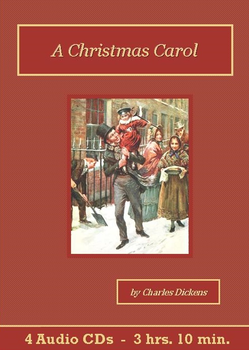 A Christmas Carol Audiobook CD Set - St. Clare Audio