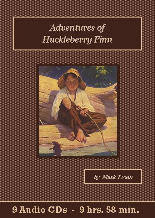 Adventures of Huckleberry Finn Audiobook CD Set - St. Clare Audio