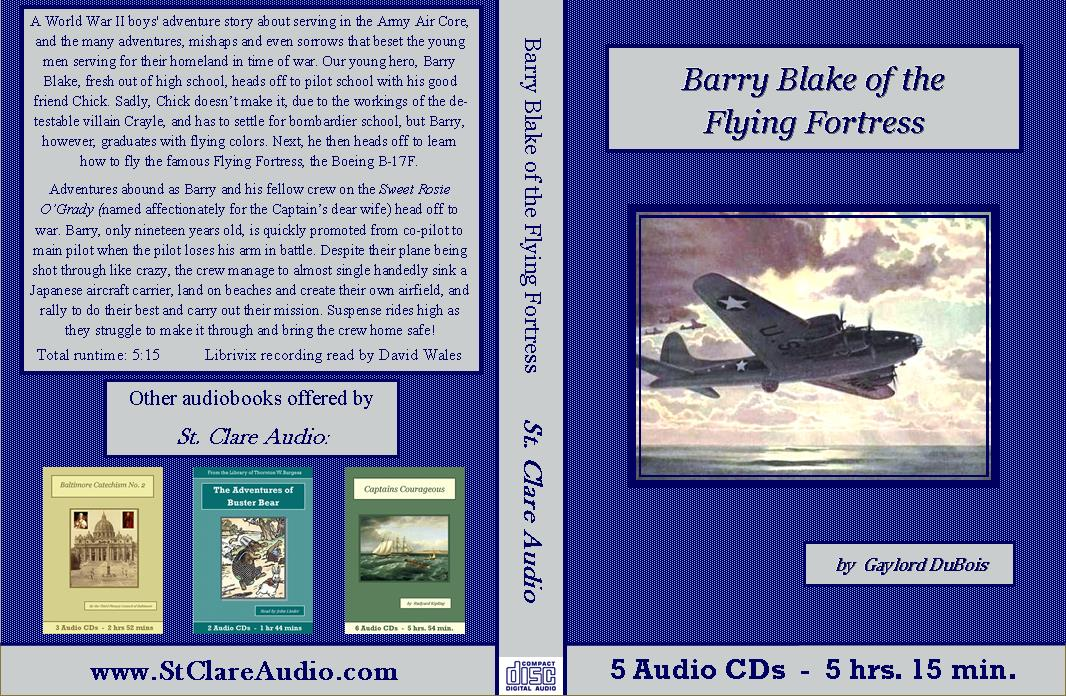 Barry Blake Of The Flying Fortress Audiobook CD Set - St. Clare Audio