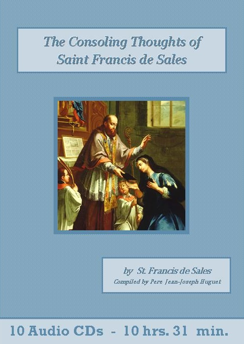 Consoling Thoughts of Saint Francis de Sales - St. Clare Audio